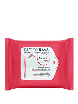 Servele micelare pentru demachiere Bioderma Sensiblo H2O, 25 buc. de la Bioderma
