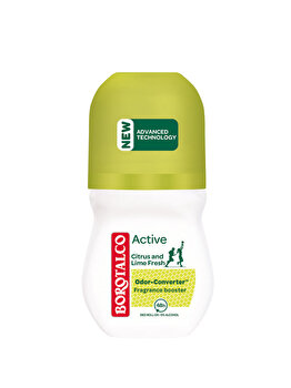 Deodorant roll-on Borotalco Active Citrus and Lime, 50ml de la Borotalco