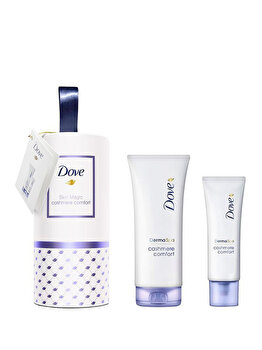 Set Dove Cashmere Comfort (Lotiune de corp, 200 ml + Crema de maini, 75 ml) de la Dove