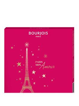 Set cadou Bourjois Paris Mon Amour (Mascara Volume Reveal Adjustable Volume + Fard de obraz Le Duo Blush, 1 Soft Pink) de la Bourjois