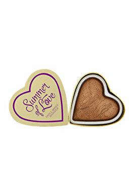 Pudra bronzanta I Heart Makeup Hearts Love hot summer