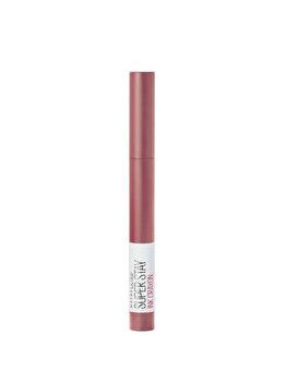 Ruj creion Maybelline Super Stay Ink Crayon, 15 Lead The Way, 13 g de la Maybelline