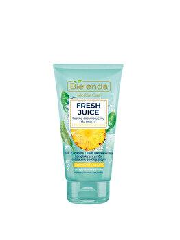 Scrub enzimatic stralucitor bioactiv cu citrice si ananas Bielenda Fresh Juice, 150 g de la Bielenda