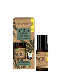Ser de fata de hidratare si detoxifiere cu extract de canepa Bielenda CBD Cannabidiol, 15 ml de la Bielenda