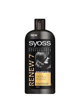 Sampon pentru par deteriorat Syoss Renew 7, 500 ml de la Syoss