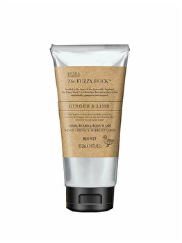 Gel de dus si sampon 2 in 1 Baylis & Harding The Fuzzy Duck Men's Ginger & Lime, 250 ml de la Baylis And Harding