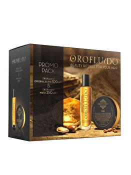 Set cadou Orofluido Beauty (Ulei 100 ml + Masca 250 ml pentru toate tipurile de par) de la Orofluido