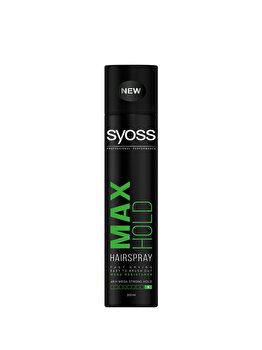 Fixativ pentru fixare foarte puternica Syoss Max Hold, 300 ml de la Syoss