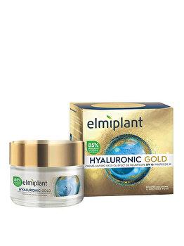 Crema de zi antirid Elmiplant Hyaluronic Gold, 50 ml de la Elmiplant