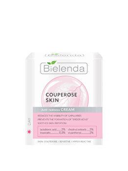 Crema de zi tonifiant-regeneranta pentru reducerea rosetii Bielenda Capillary Skin, 50 ml de la Bielenda