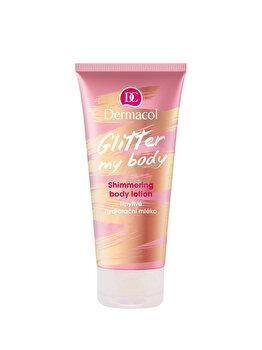 Lotiune de corp cu sclipici Dermacol Glitter My Body, 200 ml de la Dermacol