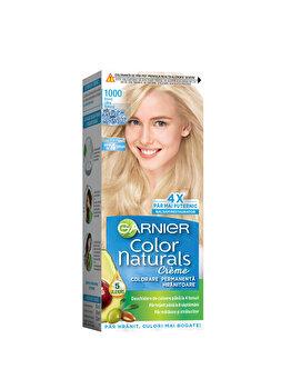 Vopsea de par permanenta cu amoniac Garnier Color Naturals, 1000 Blond Ultra Natural, 110 ml