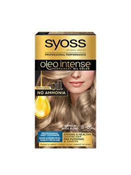 Vopsea de par permanenta fara amoniac Syoss Oleo Intense, 8-05 Blond Bej, 115 ml