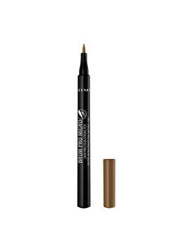 Creion pentru sprancene Rimmel London Brow Pro Micro 24H, 001 Blonde, 0.9 g de la Rimmel