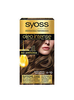 Vopsea de par permanenta fara amoniac Syoss Oleo Intense, 6-10 Blond Inchis, 115 ml de la Syoss Oleo