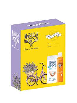 Set cadou Le Petit Marseillais Body Care Coconut (Gel de dus 400 ml + Spray de corp 200 ml) de la Le Petit Marseillais