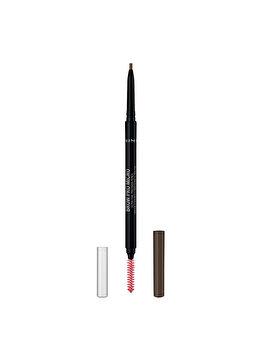 Creion pentru sprancene Rimmel London Brow Pro Micro, 002 Soft Brown, 0.9 g de la Rimmel