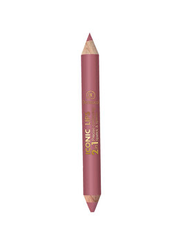 Creion de buze 2 in 1 Iconic Lips, No.1 de la Dermacol