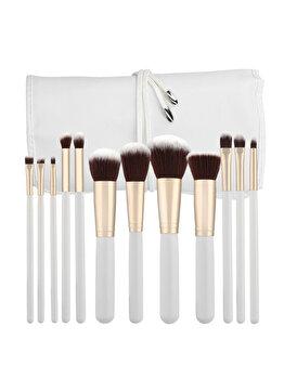 Set 12 pensule cu husa Tools4Beauty de la Tools4beauty