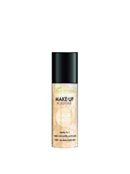 Spray 3 in 1 de fata, corp si par Bielenda Make-up Academie Magic Water, Nude, 150 ml de la Bielenda