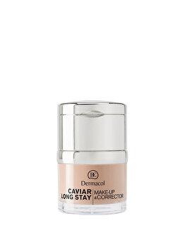 Fond de ten Caviar Long Stay Make-up & Corrector – Ivory no.0.0 de la Dermacol
