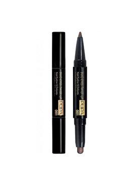Creion de ochi Pupa Savanna Duo Eyes Twist-up, 001 Dark Cocoa, 0.8 g