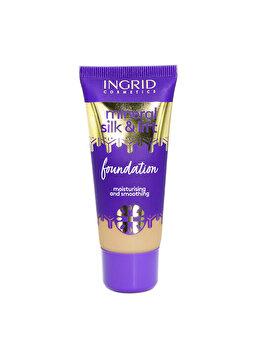 Fond de ten Mineral Silk & Lift, nr. 032, 30 ml de la INGRID Cosmetics