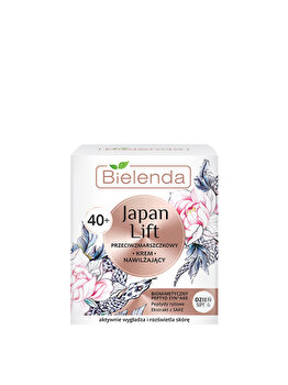 Crema hidratanta anti-rid 40+ SPF 6 Bielenda Japan Lift, 50 ml de la Bielenda