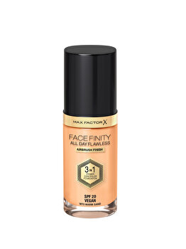 Fond de ten 3 in 1 Max Factor Facefinity All Day Flawless, W70 Warm Sand, 30 ml de la Max Factor