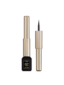 L'Oreal Paris Tus lichid waterproof Matte Signature by SuperLiner 01 Ink- 6ml de la L Oreal Paris