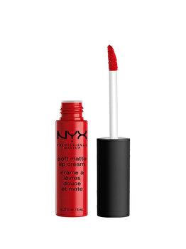 Ruj de buze NYX Professional Makeup Soft Matte Lip Cream, Amsterdam, 8 ml de la NYX