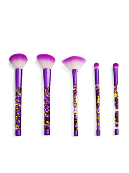Set de pensule de machiaj I Heart Revolution Fortune Seeker Purple Glitter de la Makeup Revolution London