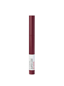Ruj creion Maybelline Super Stay Ink Crayon, 65 Settle For More, 13 ml de la Maybelline