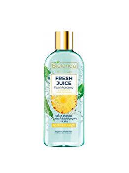 Apa micelara detoxifianta bioactiva cu citrice si ananas Bielenda Fresh Juice, 500 ml de la Bielenda