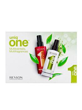 Set cadou Revlon Professional (Tratament regenerant pentru toate tipurile de par, 150 ml si Tratament leave-in cu Green Tea, 150 ml) de la Revlon