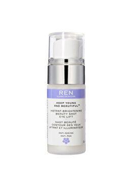 Gel iluminator pentru ochi Ren Keep Young and Beautiful, 15 ml de la Ren