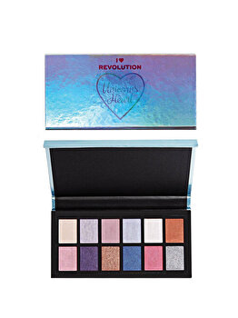 Paleta de farduri I Heart Revolution Unicorns Heart de la Makeup Revolution London