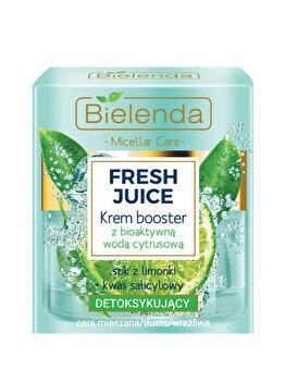 Crema de fata detoxifianta bioactiva cu lime Bielenda Fresh Juice, 50 ml de la Bielenda