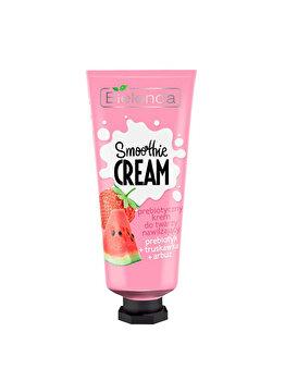 Crema hidratanta cu pepene verde si prebiotice Bielenda Smoothie Cream, 50 ml de la Bielenda