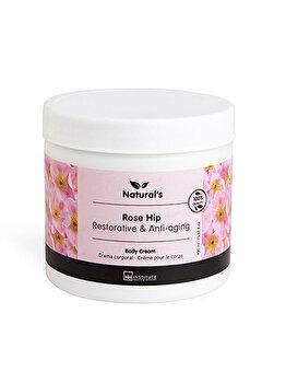 Crema de corp cu extract de trandafiri Natural's, 400 ml