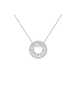 Colier cu pandantiv Diamond Style DUALCIRCLEPEN de la Diamond Style