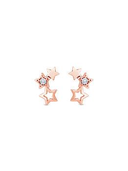 Cercei Diamond Style STARRYSTUDROSE de la Diamond Style