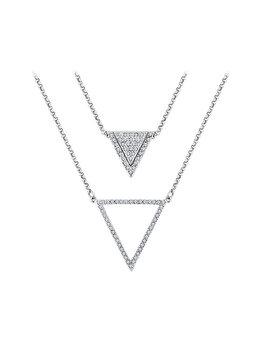 Colier Diamond Style TRIANGLELAYERNECK de la Diamond Style