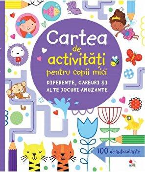 Carte de activitati pentru copii mici. Diferente, careuri si alte jocuri amuzante/*** de la Litera