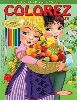 Marioara si Ionut. Colorez fructe/Petru Ghetoi de la Casa Povestilor