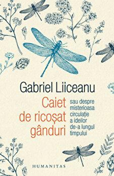 Caiet de ricosat ganduri sau despre misterioasa circulatie a ideilor de-a lungul timpului/Gabriel Liiceanu
