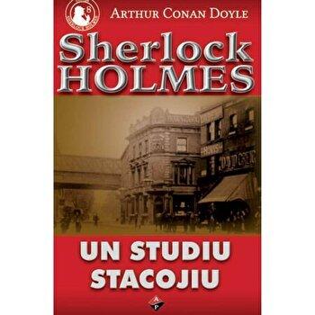 Un Studiu Stacojiu/Arthur Conan Doyle de la Aldo Press