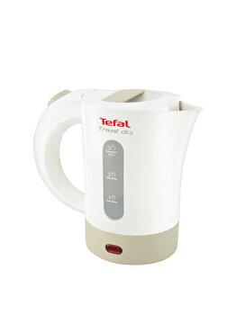 Fierbator de calatorie Tefal, KO120130, 0.5 L, 2400 W, Alb de la Tefal