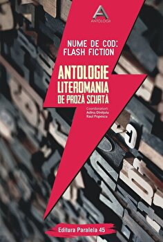 Nume de cod: Flash fiction. Antologie Literomania de proza scurta/Adina Dinitoiu, Raul Popescu (Ccordonatori) de la Paralela 45