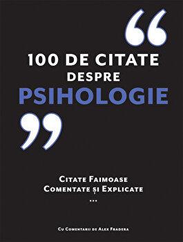 Imagine 100 De Citate Despre Psihologie
